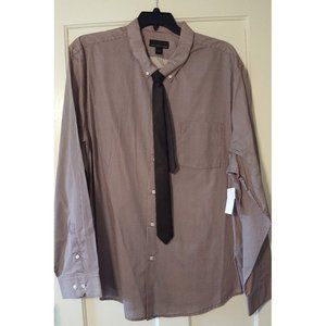 *5/$20* NWT Attention Men's Button Down Shirt Tie